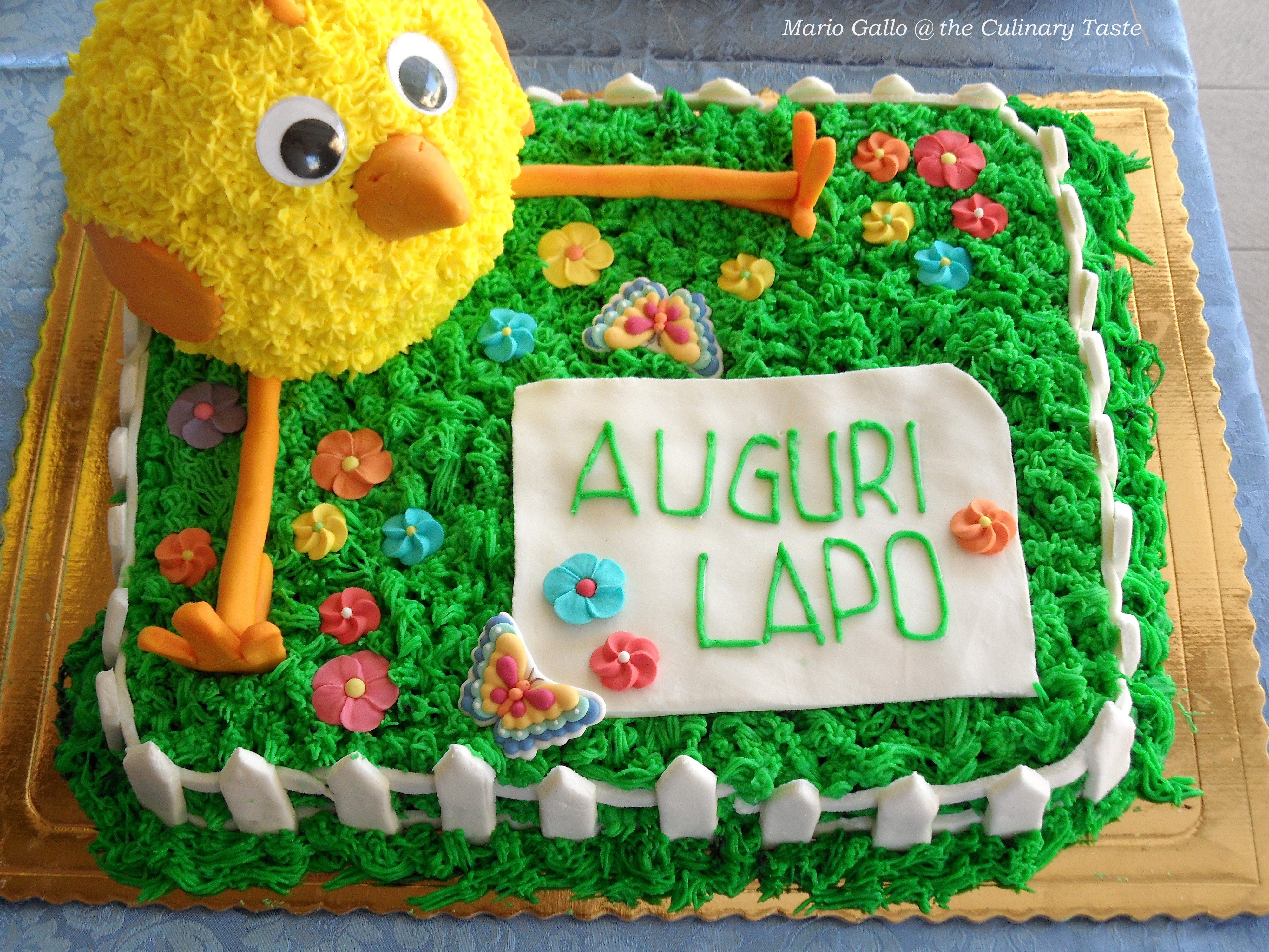 The Chick in the Mead an OverintheMeadow Birthday Cake the