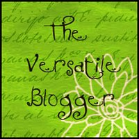 The Versatile Blogger Award Take Two